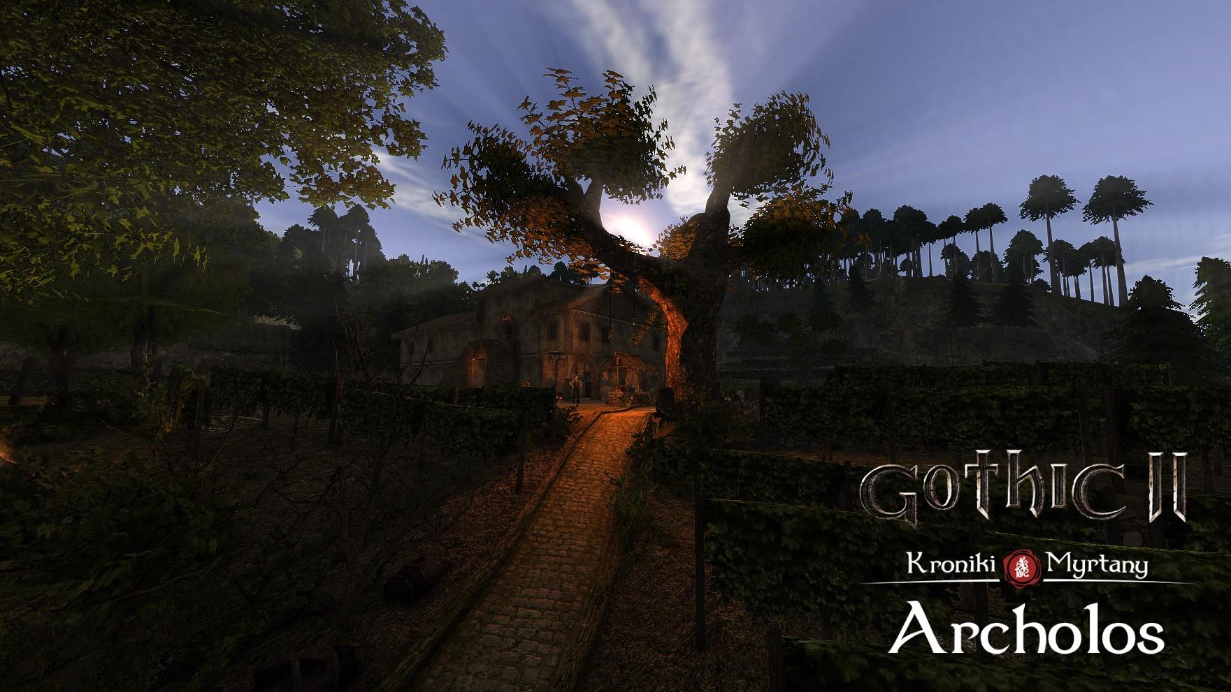 Создатели модификации «Готика II: Хроники Миртаны» показали кадры геймплея