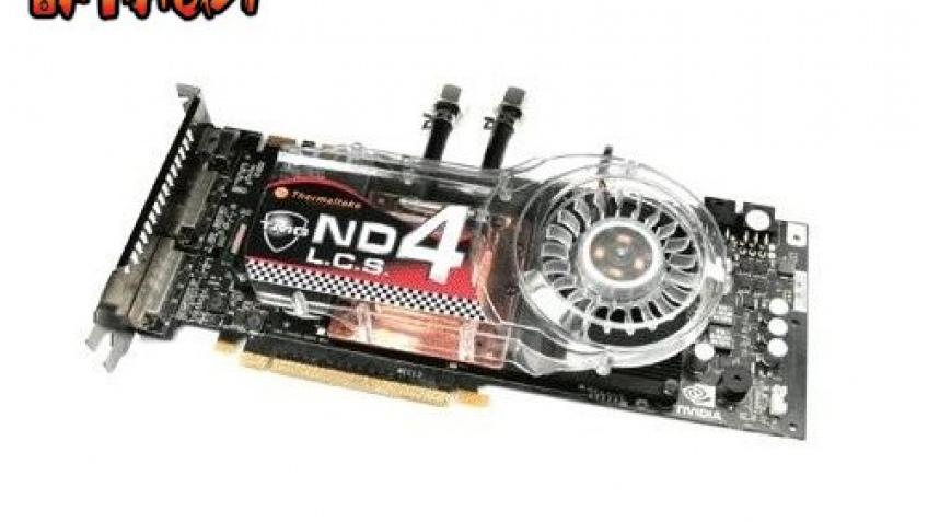 Водоблок для GeForce 8800 от Thermaltake