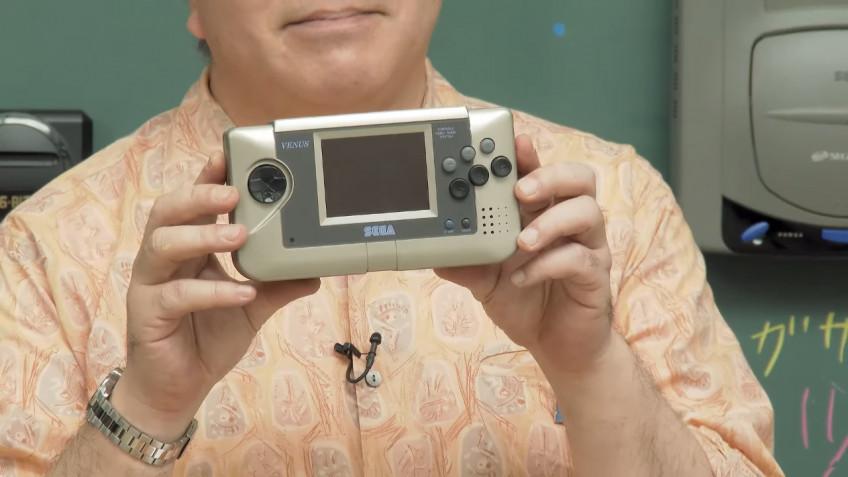 Продюсер SEGA впервые показал прототип портативной консоли Nomad