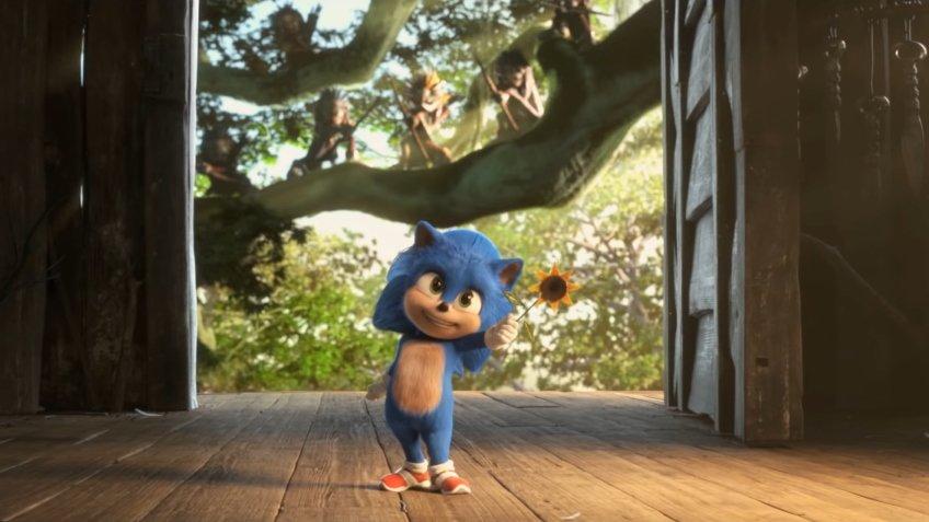 В японском трейлере «Соника в кино» показали малыша Соника
