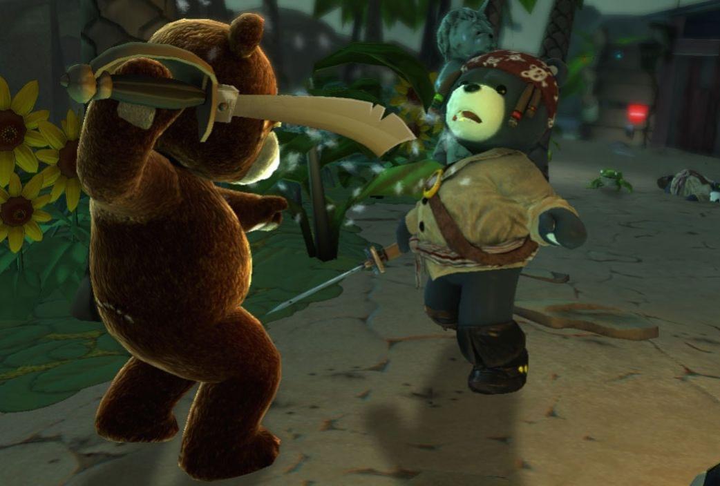 Плюшевый медведь станет пиратом