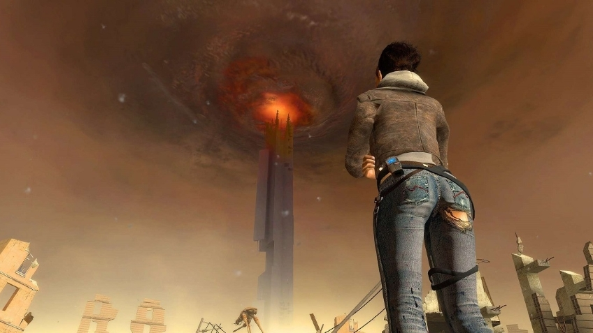 13 минут геймплея фанатского третьего эпизода Half-Life2