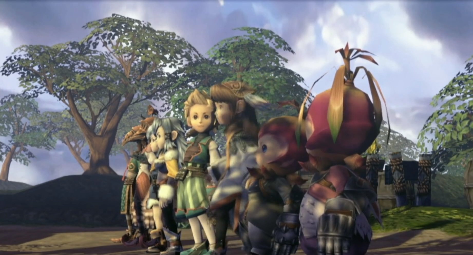 Square Enix выпустит ремастер Final Fantasy Crystal Chronicles