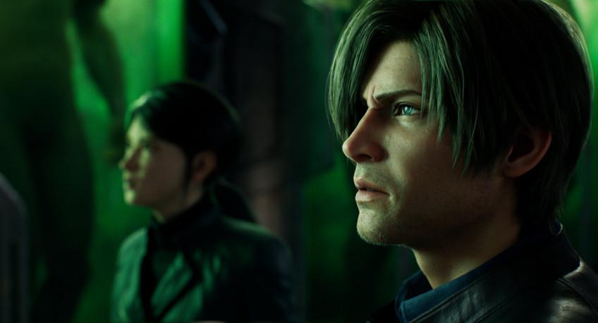 Новые изображения Resident Evil: Infinite Darkness посвятили Леону Кеннеди3