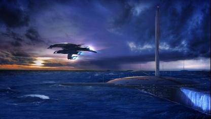 Кейси Хадсон вновь намекает на новый Mass Effect, показав четыре новых арта трилогии