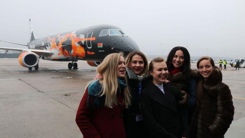 Wargaming и «Белавиа» выпустили ещё один самолёт с раскраской World of Tanks