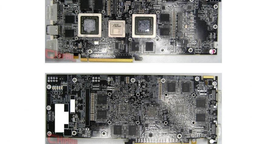Фотографии текстолита ATI Radeon HD 4870 X2