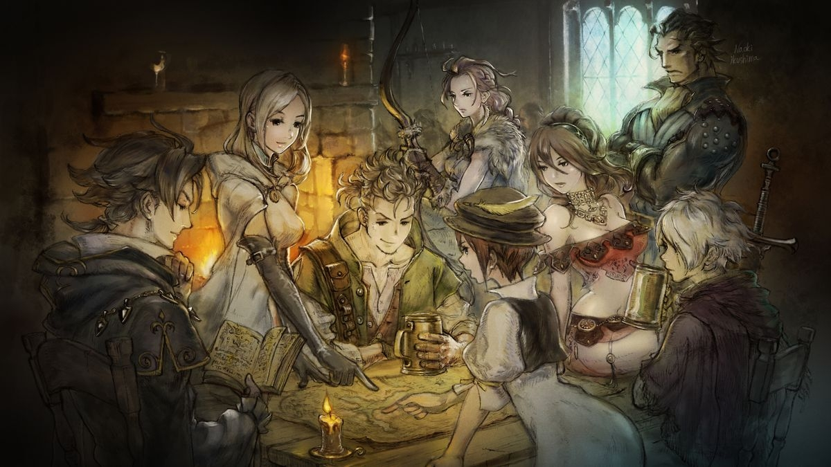 Похоже, Octopath Traveler переберётся с Nintendo Switch на РС