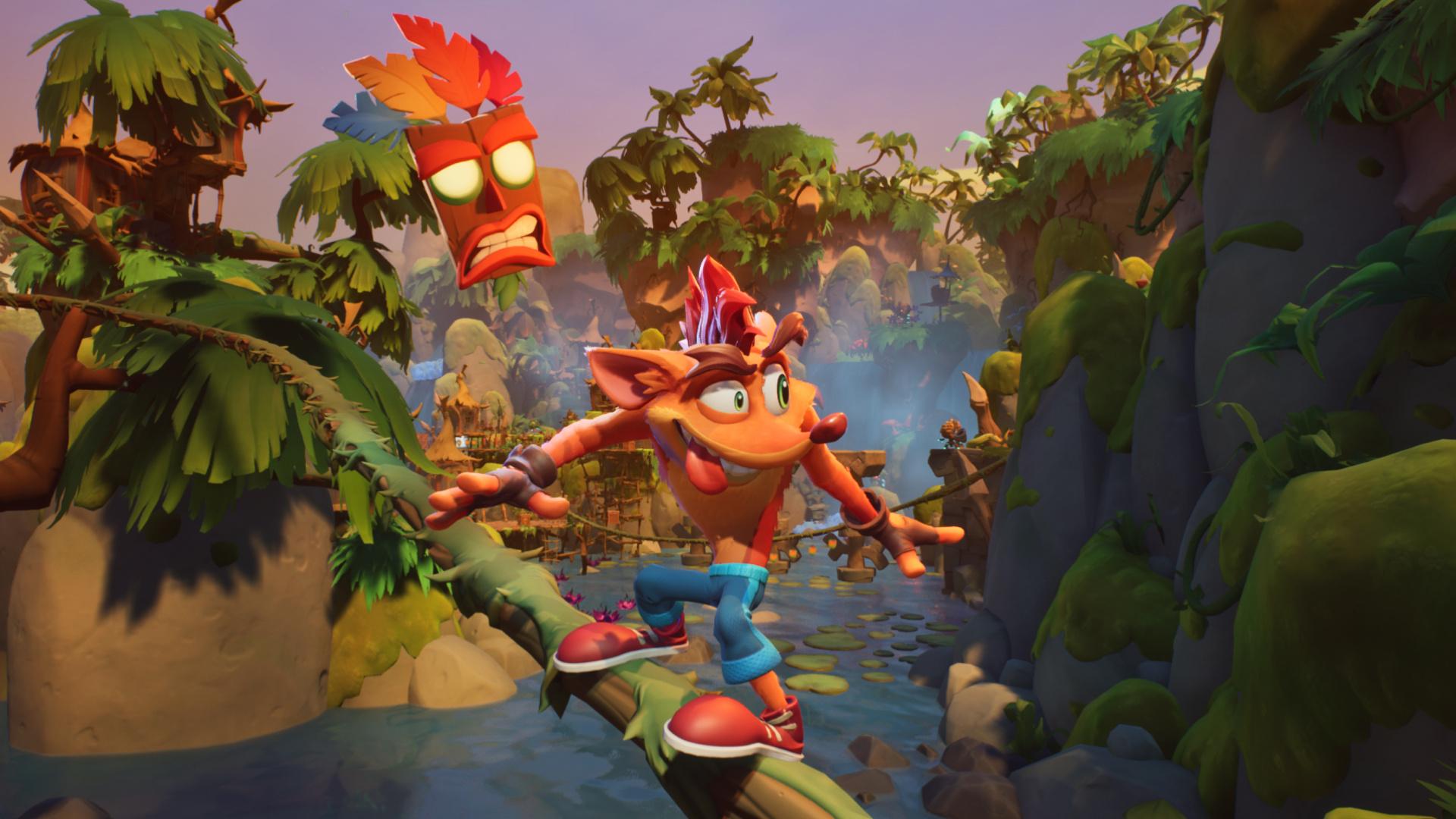 Crash Bandicoot4 получит локальные мультиплеерные режимы