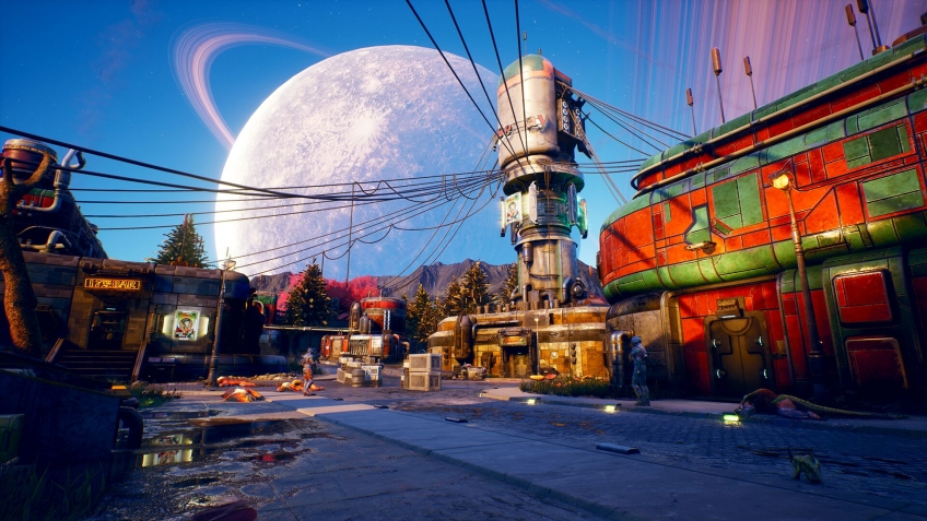 Создатели Fallout и Obsidian представили The Outer Worlds