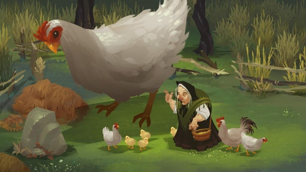 Между ведьмой и царём: игровой процесс ролевого боевика Yaga