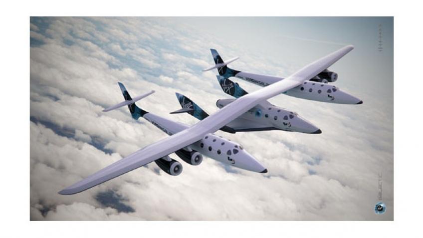 Космический корабль Virgin совершил первый полет
