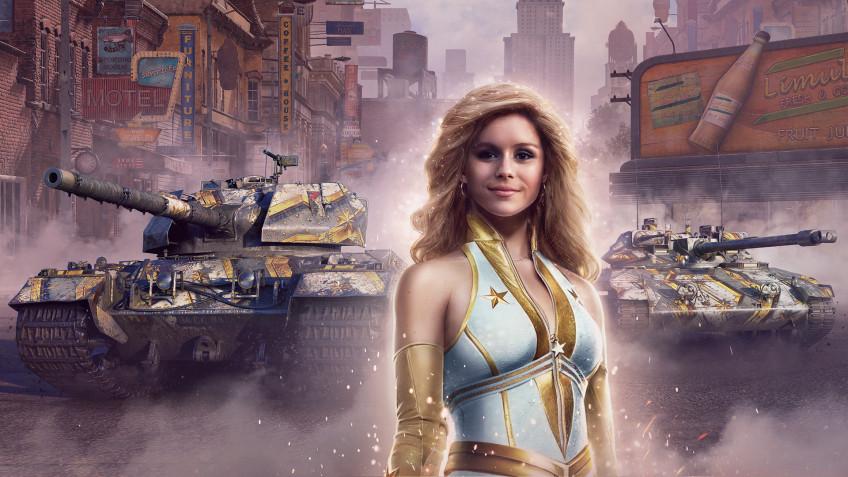 Авторы World of Tanks создали коллаборацию с «Пацанами»