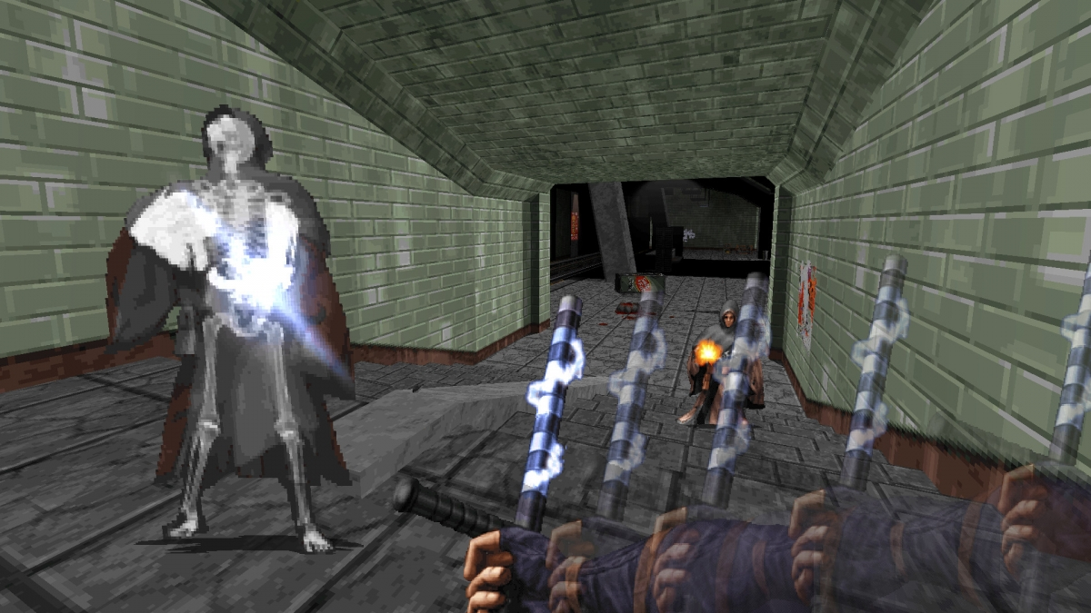 Шутер Ion Maiden создаётся на движке Duke Nukem 3D