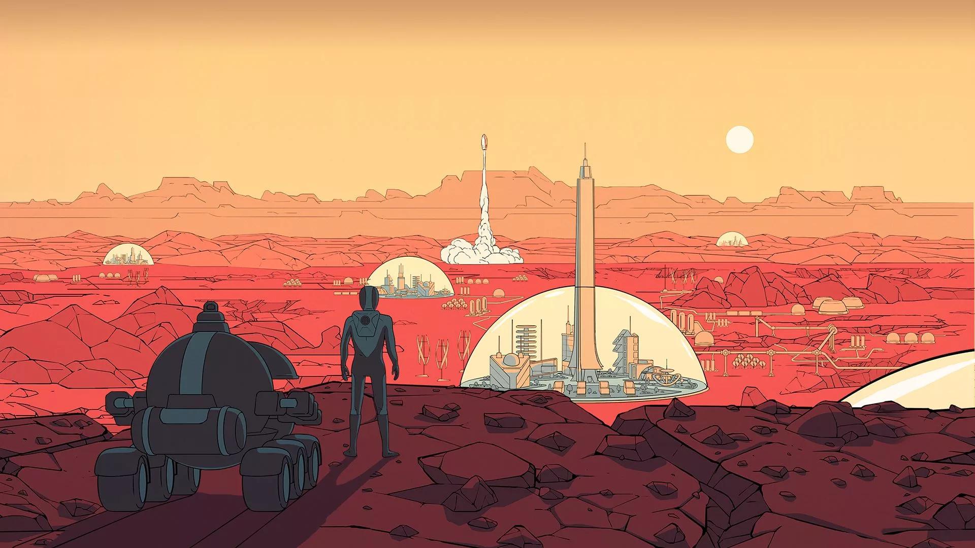 В Epic Games Store бесплатно отдают Surviving Mars — во второй раз