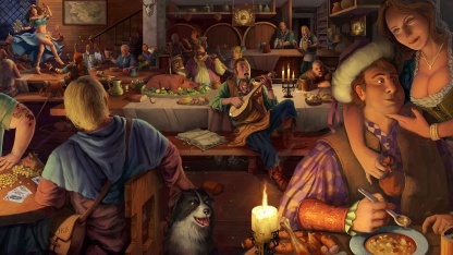 Симулятор хозяина таверны Crossroads Inn выйдет на РС в октябре