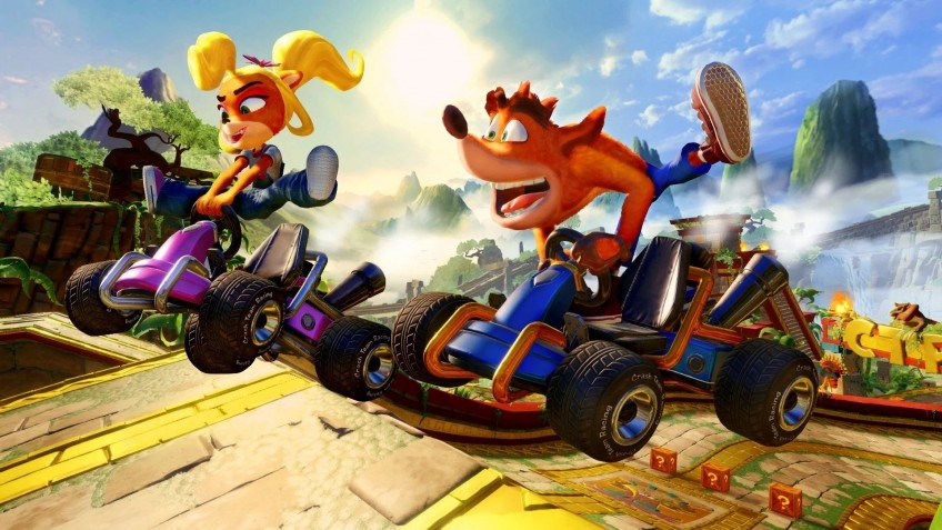 Crash Team Racing Nitro-Fueled возглавила европейские чарты PS Store за июнь
