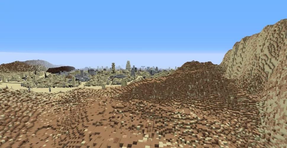 Фанат воссоздаёт планеты из «Звёздных войн» в Minecraft2