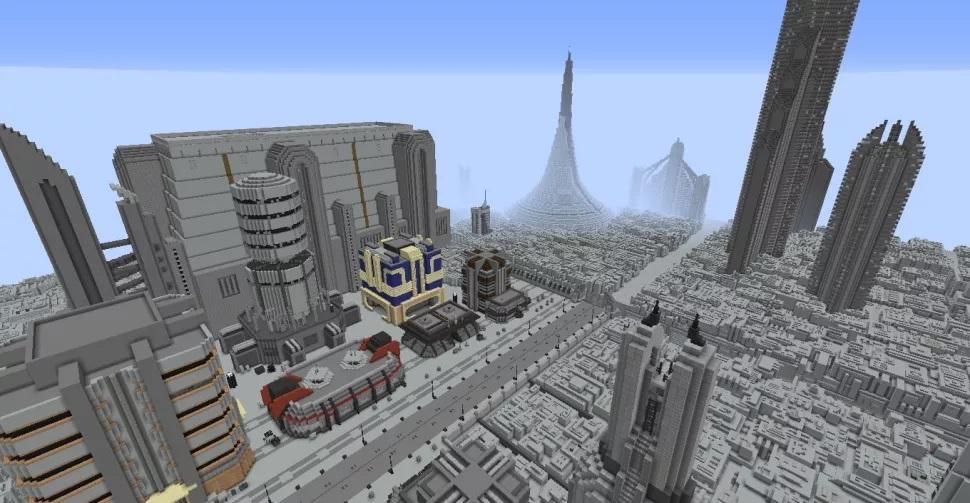 Фанат воссоздаёт планеты из «Звёздных войн» в Minecraft5
