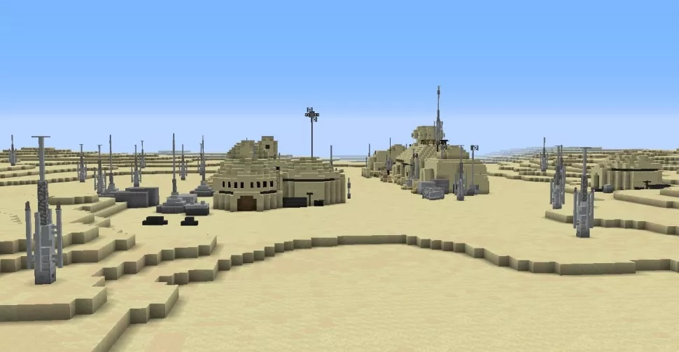 Фанат воссоздаёт планеты из «Звёздных войн» в Minecraft3