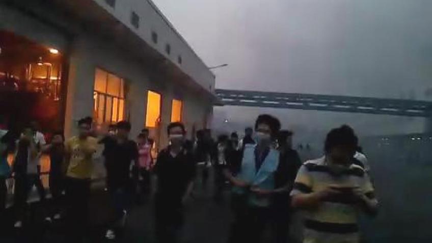 На заводе Foxconn прогремел взрыв