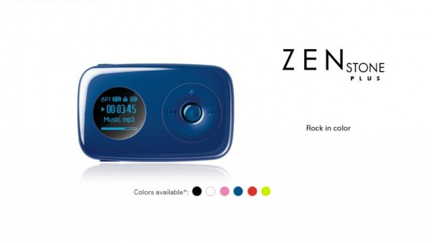 Плеер Zen Stone – теперь с экраном