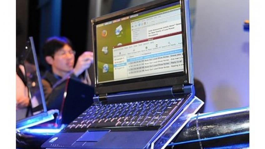 Intel показала ультратонкий ноутбук