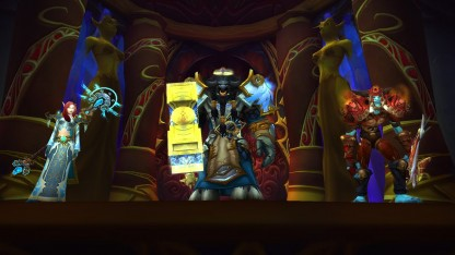 Герои World of Warcraft смогут раздеться до пояса. И не только (Обновлено)