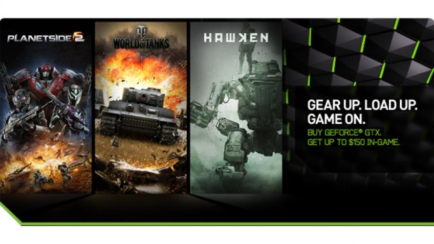 NVIDIA даст деньги для игры в Hawken, World of Tanks и PlanetSide