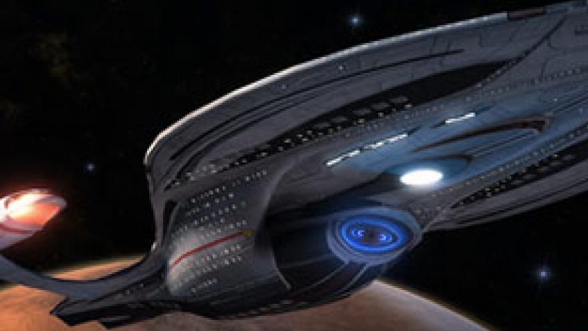 Star Trek Online. Игрок построил звездолет