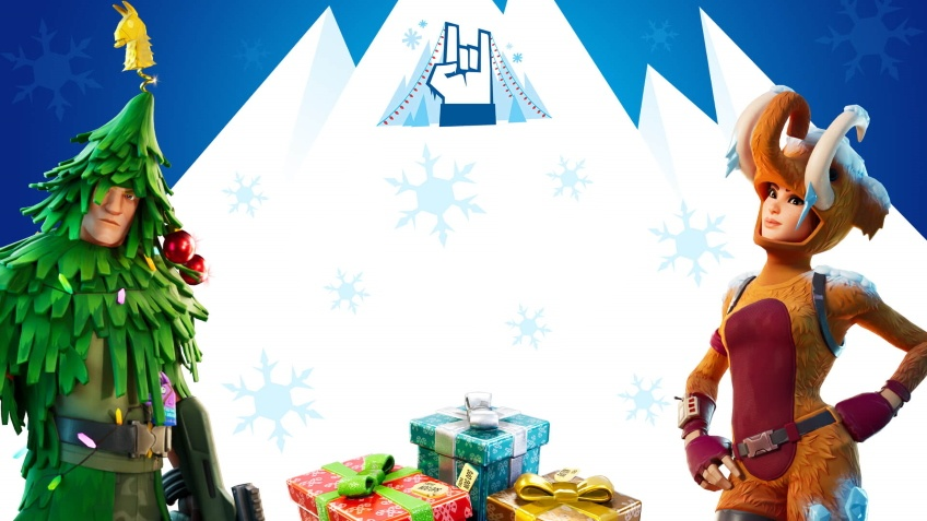В Fortnite можно бесплатно получить рождественский облик