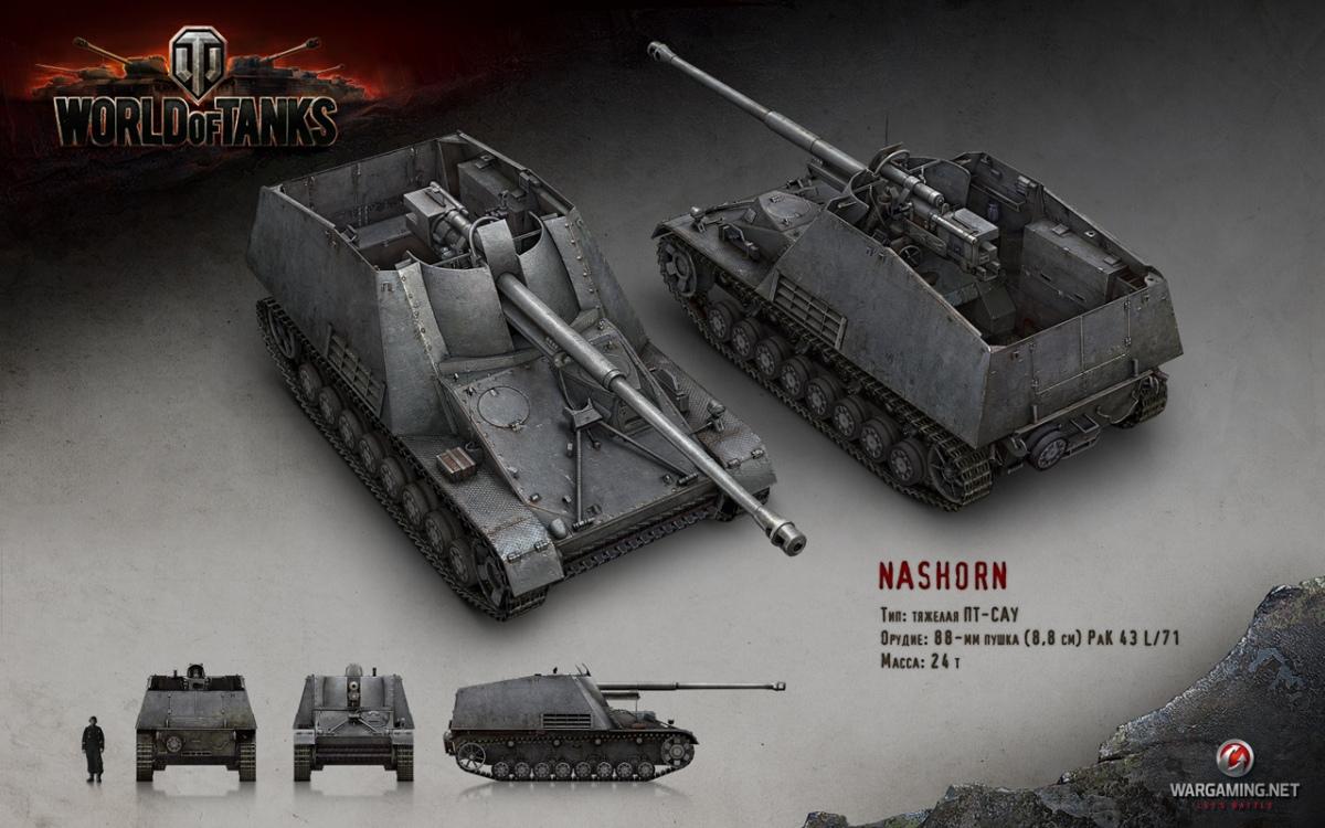 В World of Tanks добавят новые САУ и режим