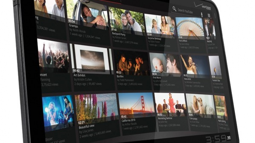 Motorola анонсировала планшет Xoom на основе Android3.0