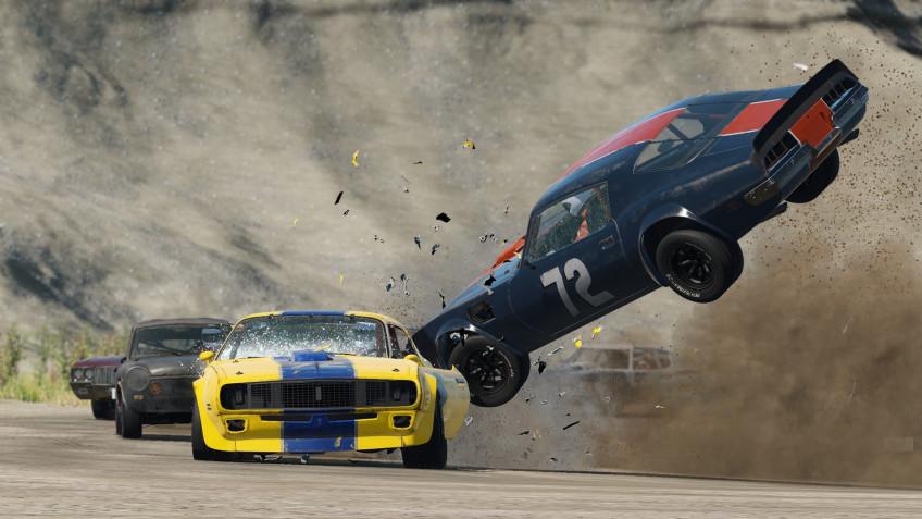 Wreckfest улучшат для PS5 — апгрейд с PS4 будет платным