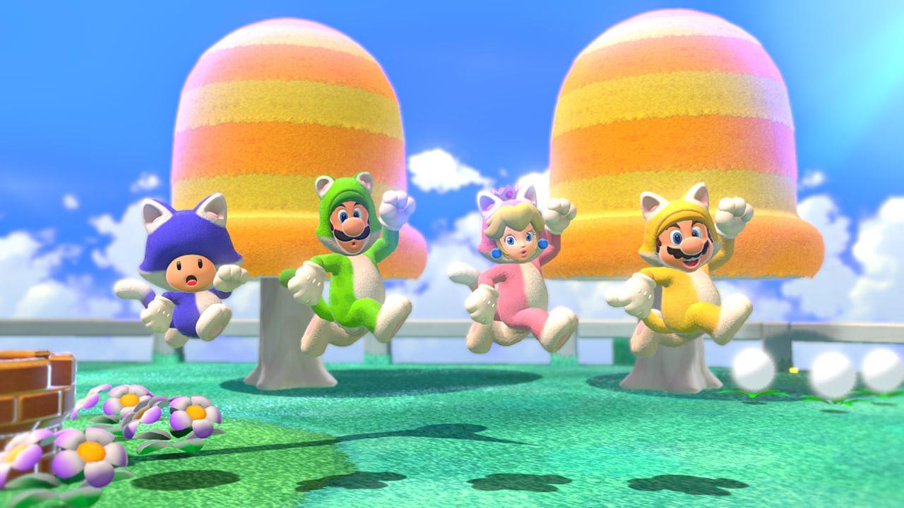 Super Mario 3D World + Bowser's Fury остаётся лидером британской розницы