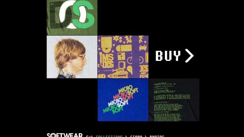 Microsoft представила линию одежды