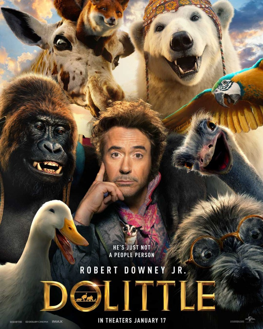 1-ый взгляд наРоберта Дауни млиз«Путешествия Доктора Дулиттла»