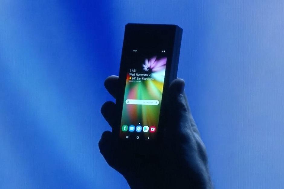 Samsung рассказала, когда выйдет её складной смартфон