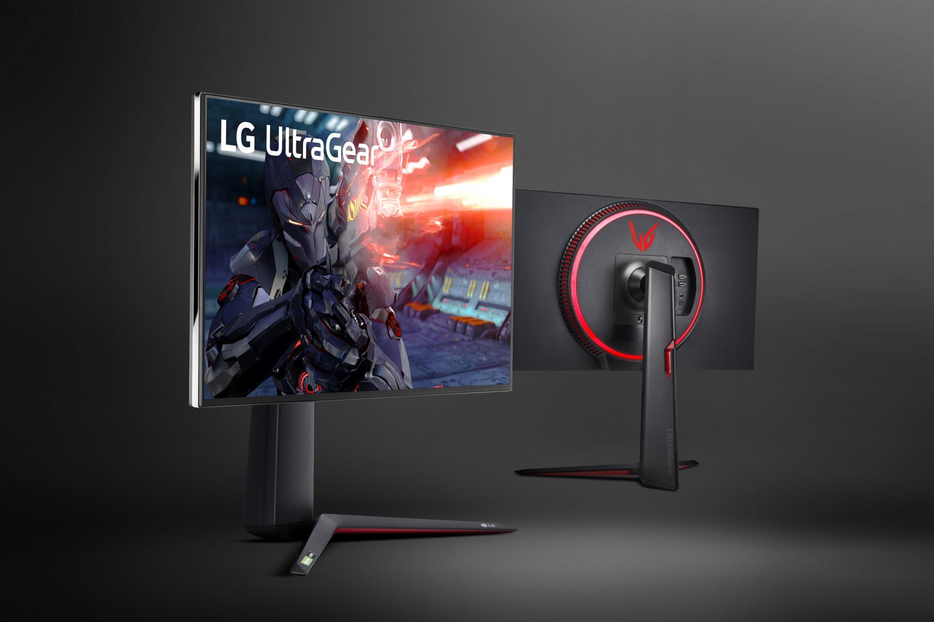 LG представила игровой монитор 4K IPS со временем отклика в1 мс