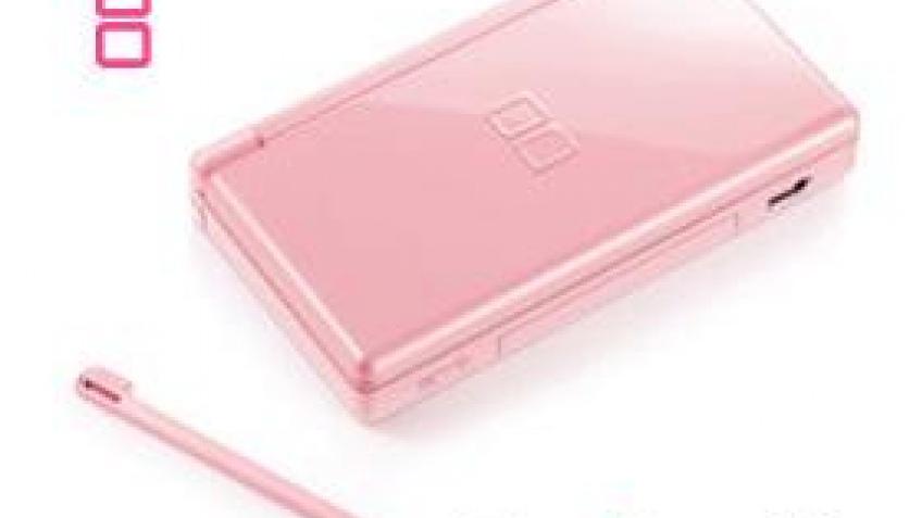 Розовая DS-ка