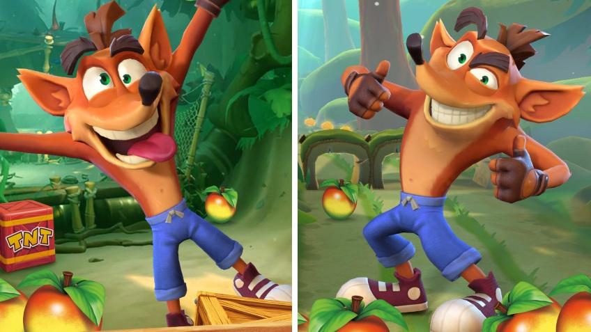 В Twitter обнаружили официальный аккаунт Crash Bandicoot: On the Run