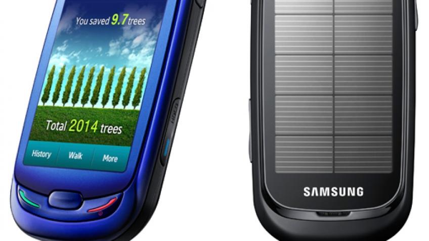 Эко-телефон Samsung поступает в продажу