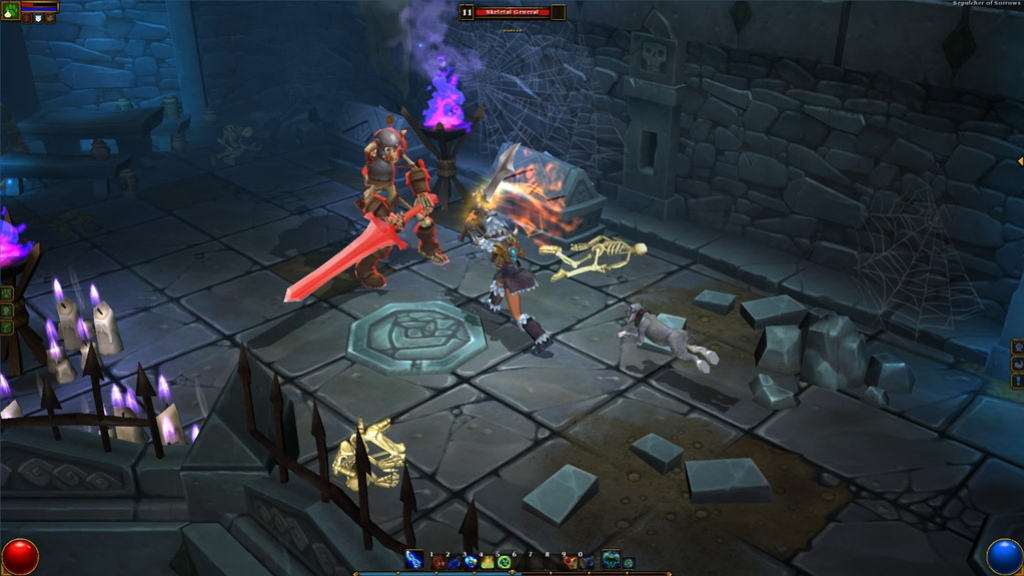 Runic Games назвали дату выхода Torchlight2