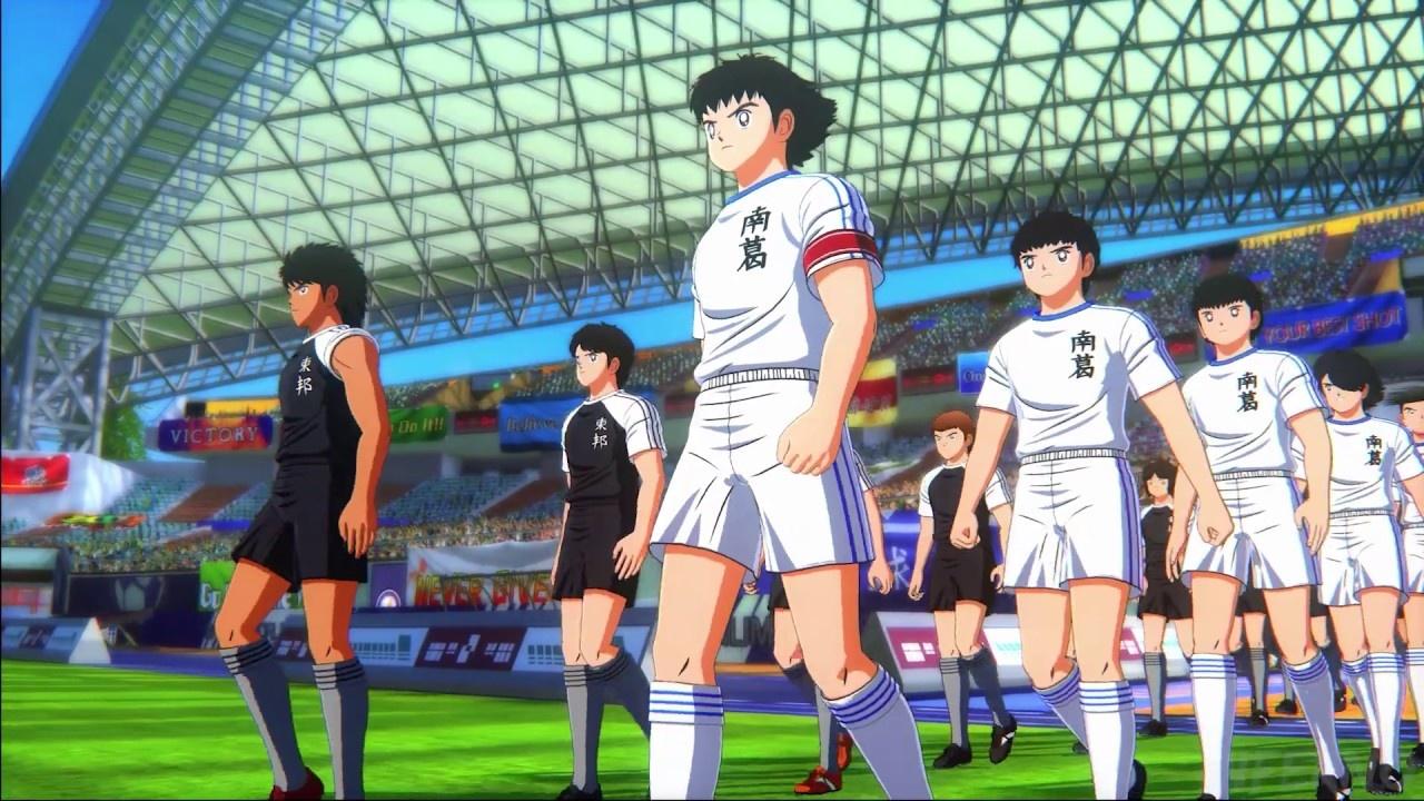 Авторы Captain Tsubasa: Rise of New Champions представили футболистов