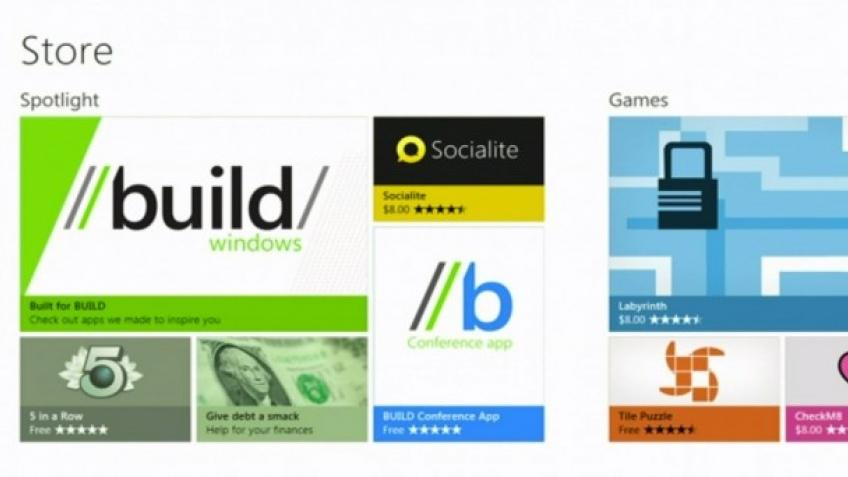 Microsoft продемонстрировала магазин приложений Windows Store