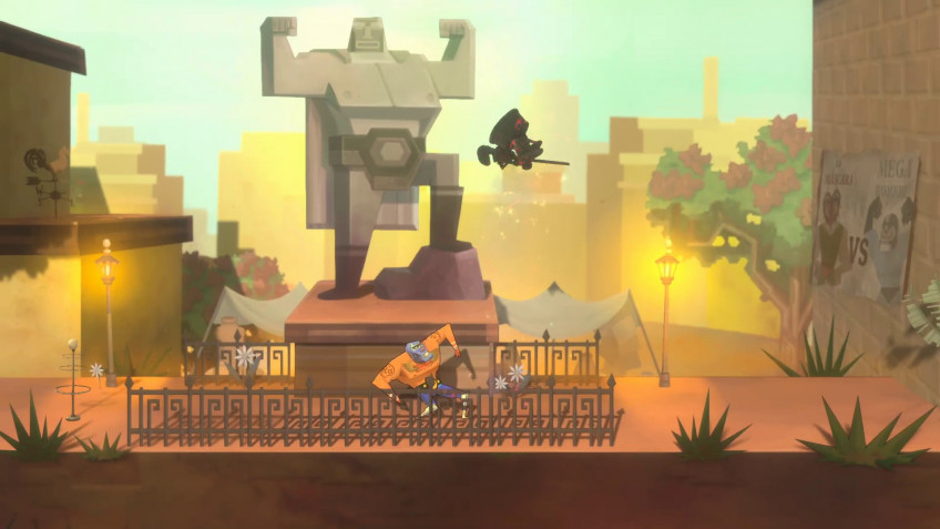 К боевику Bounty Battle выпустили трейлер с участием инди-героев
