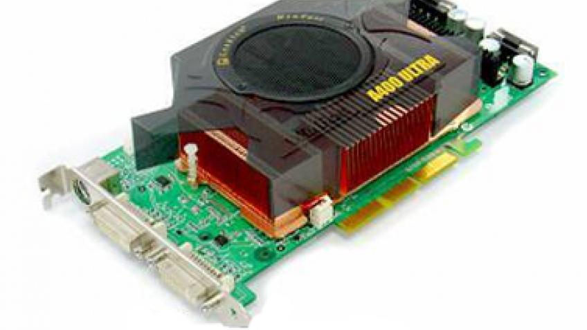 Первые видеокарты на GeForce 6800 Ultra
