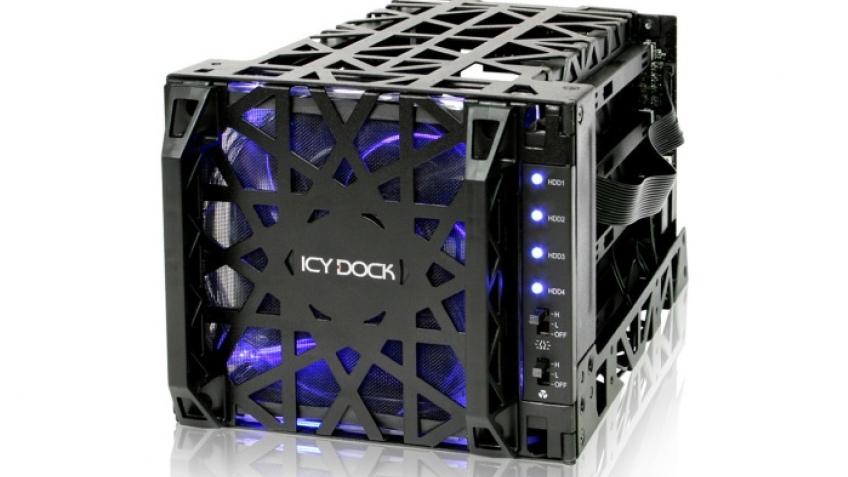 Icy Dock представила корзину для HDD Black Vortex MB074SP-1B