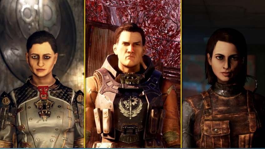 Свежий трейлер Fallout76 посвящён лидерам Братства Стали