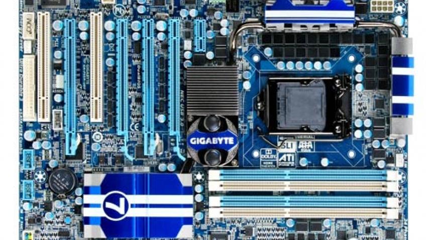 Новая материнка Gigabyte на основе Intel P55